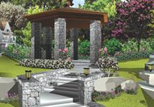 3d изображения, сделано в программе Punch Home Design Platinum.